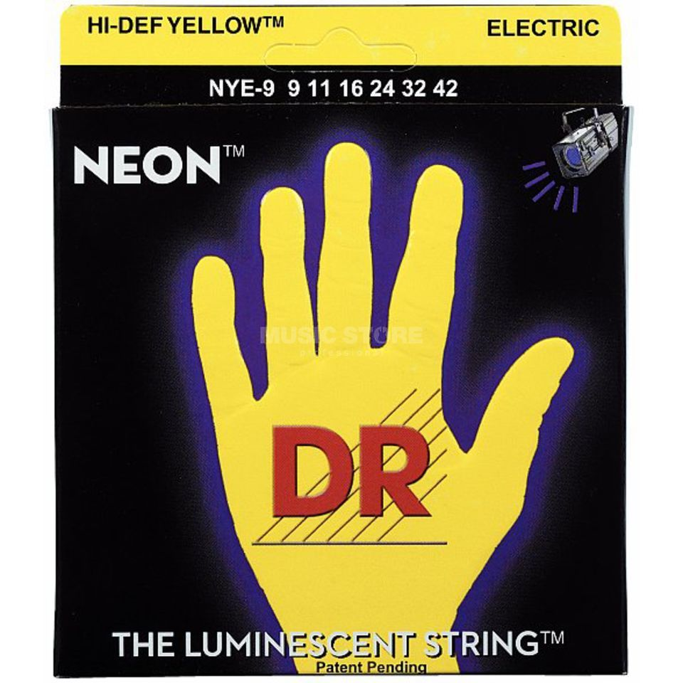 DR NYE-9 9-42 HiDef Neon Yellow  Produktbillede