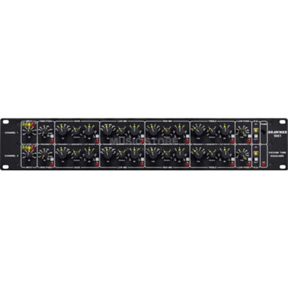 "Drawmer 1961 Tube Equalizer 2-Channel pararm., 19"" 2HE Produktbillede"
