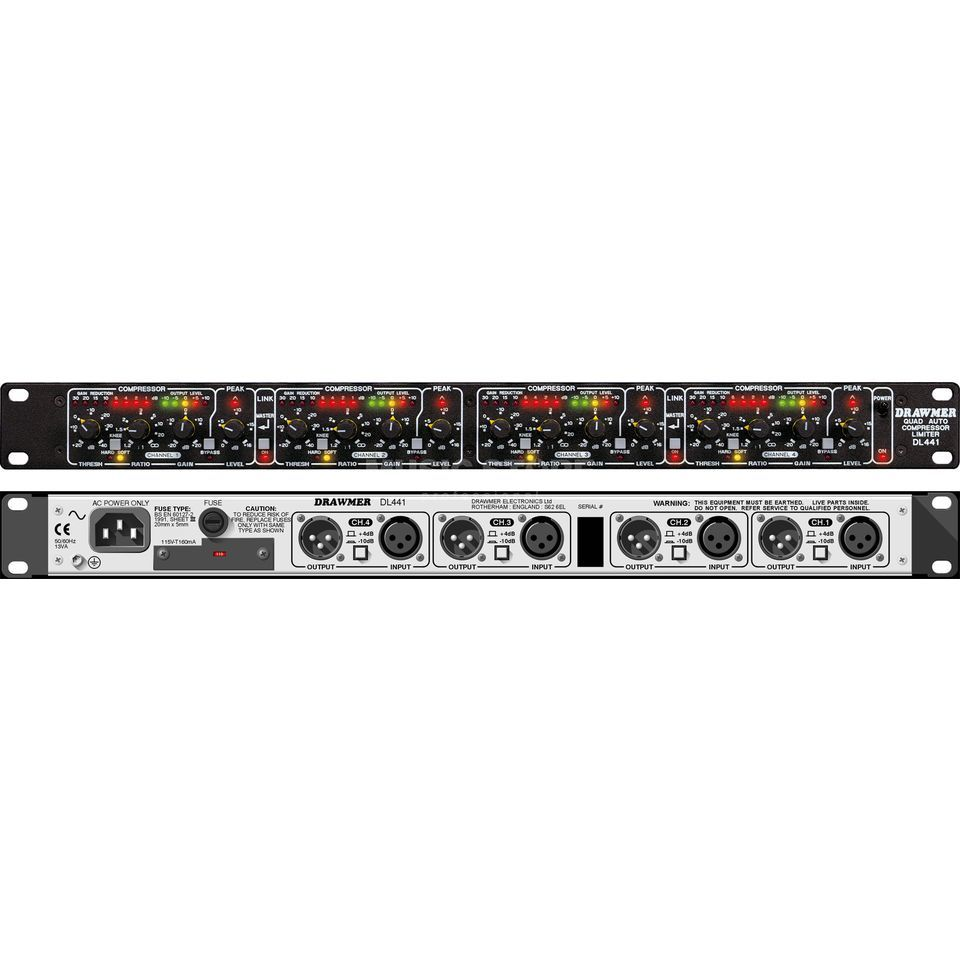 Drawmer DL 441 4 Channel Compressor/Limiter Produktbild
