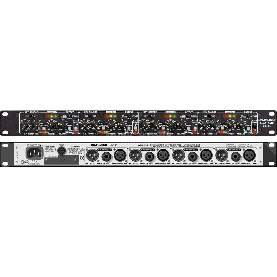 Drawmer DS 404 4-Channel  Noise-Gate/Expander Produktbild