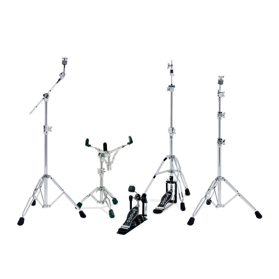 Drum Workshop 3000 Series hardware Pack - Double Bracket - Chrome Product Image