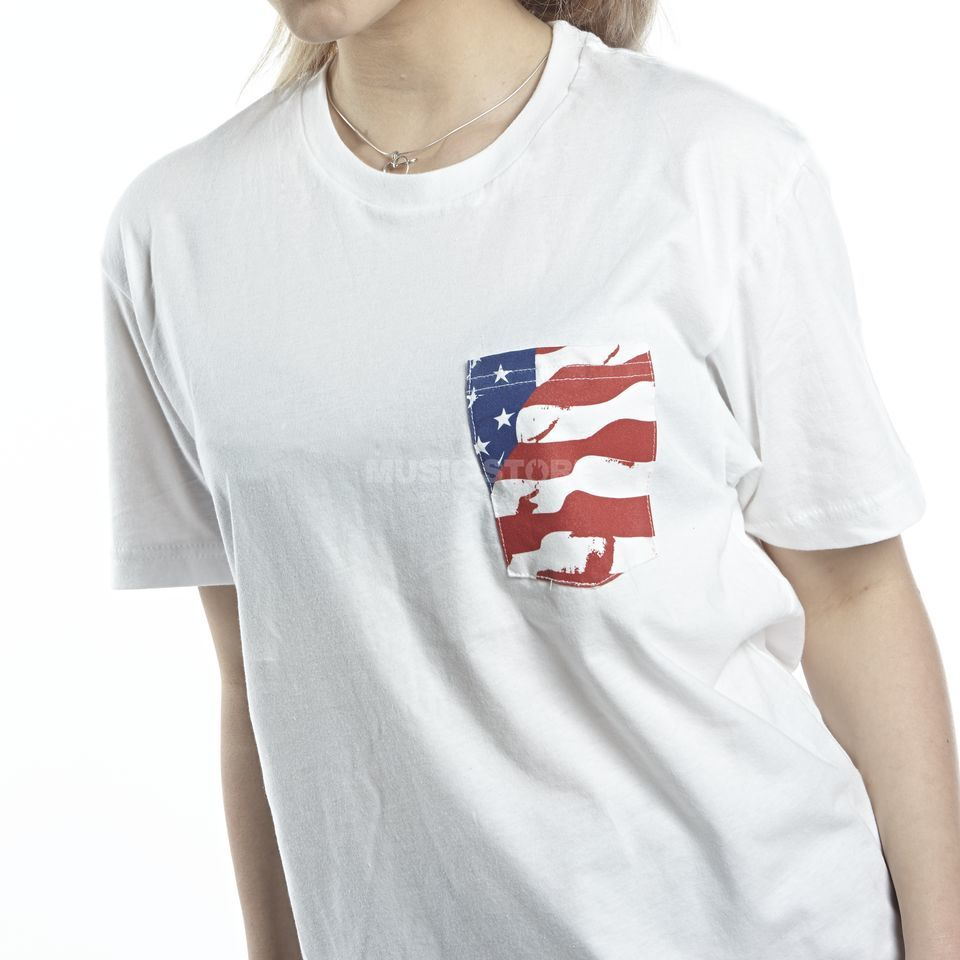Drum Workshop American Flag Pocket T-Shirt L Produktbillede