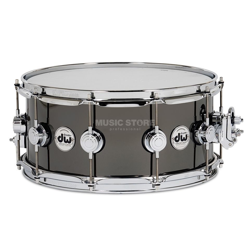 Drum Workshop Collector Snare 14x5.5 Snare Black Nickel over Brass Produktbillede
