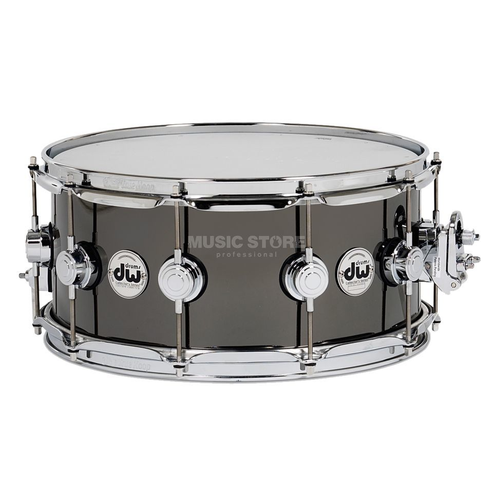 Drum Workshop Collector Snare 14x6,5 Snare Black Nickel over Brass Produktbild