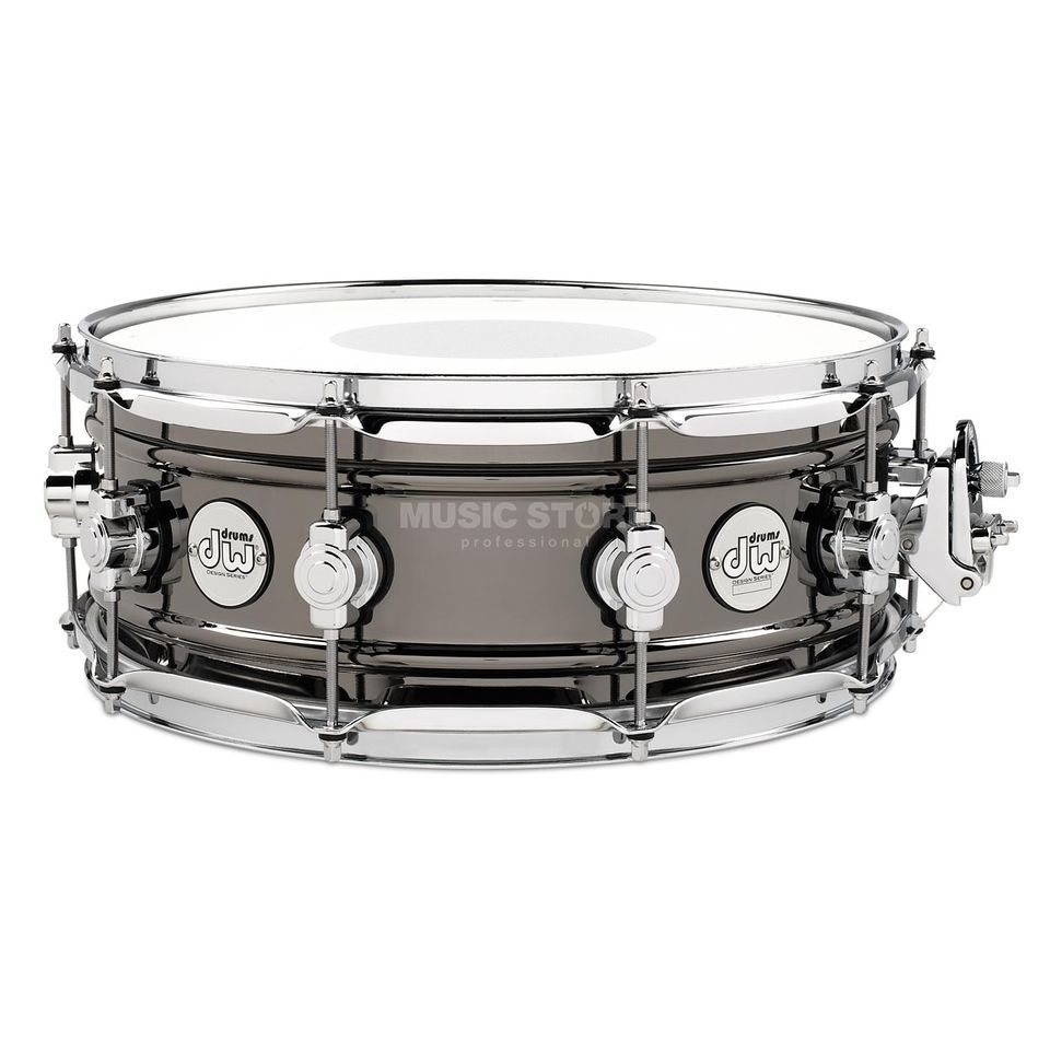 "Drum Workshop Design Black Brass Snare 14""x6,5"" Produktbillede"