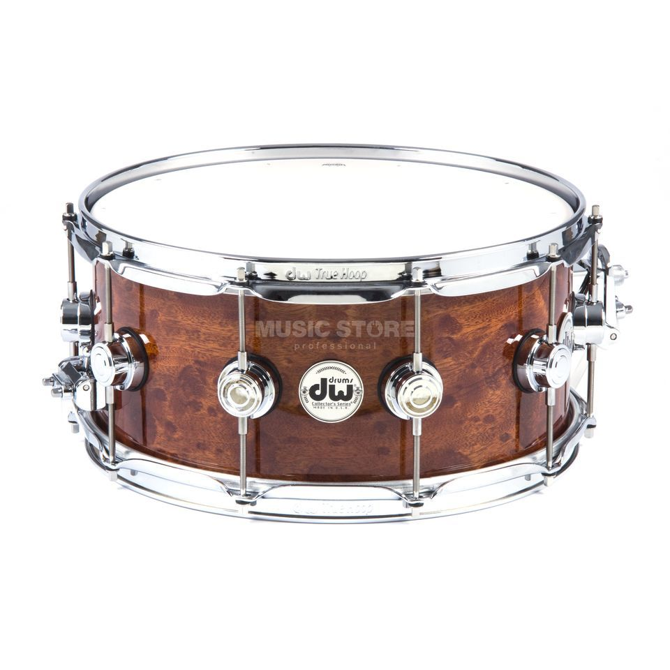 "Drum Workshop Exotic Snare 14""x6.5"" Sapeli Pommele Produktbillede"
