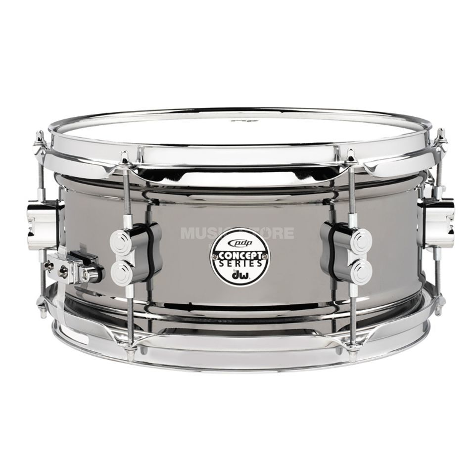 "Drum Workshop PDP Black Nickel Steel Snare 12""x6"" Produktbild"