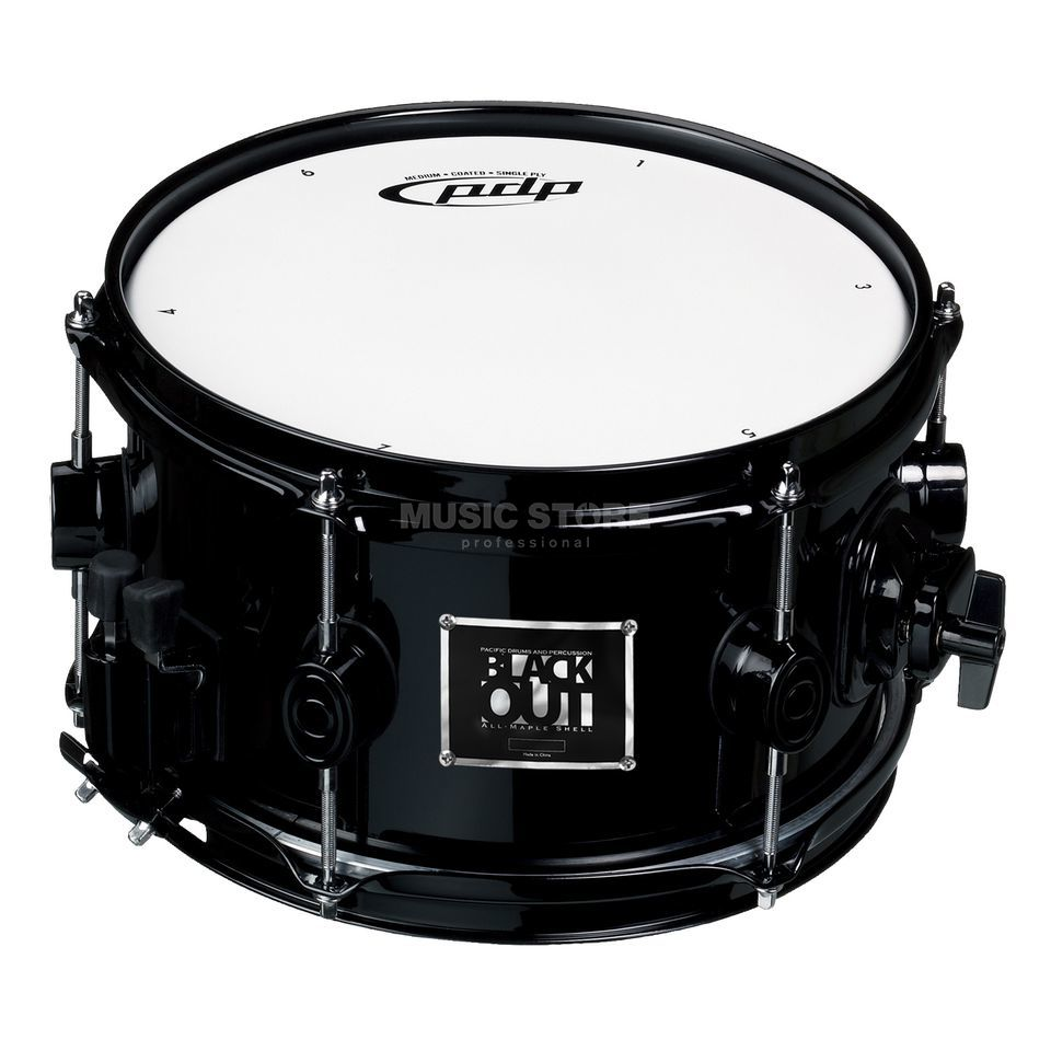 "Drum Workshop PDP Blackout Snare 10""x6""  Produktbild"