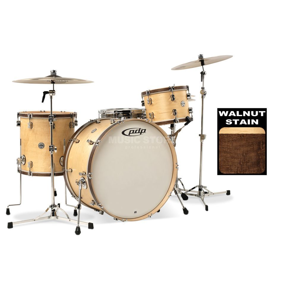 Drum Workshop PDP Concept Classic 24, Walnut Stain Produktbillede