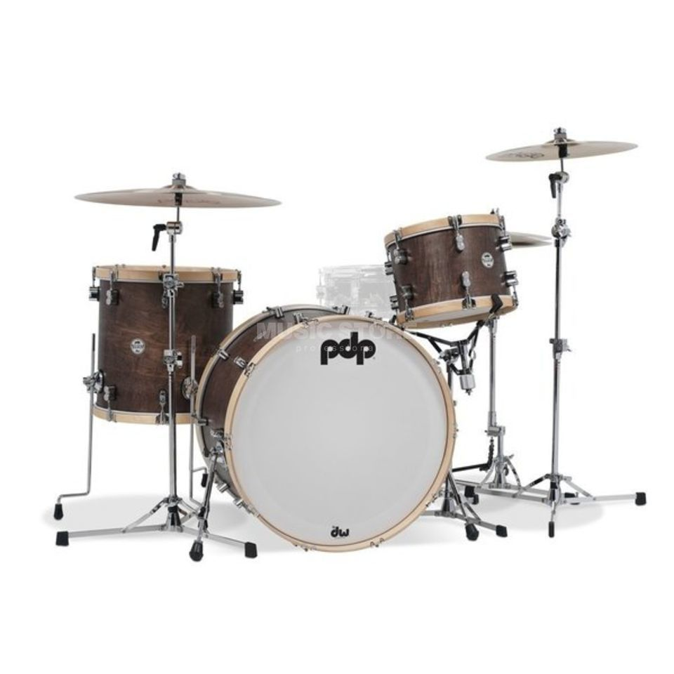 Drum Workshop PDP Concept Classic 26, Walnut Stain Produktbillede