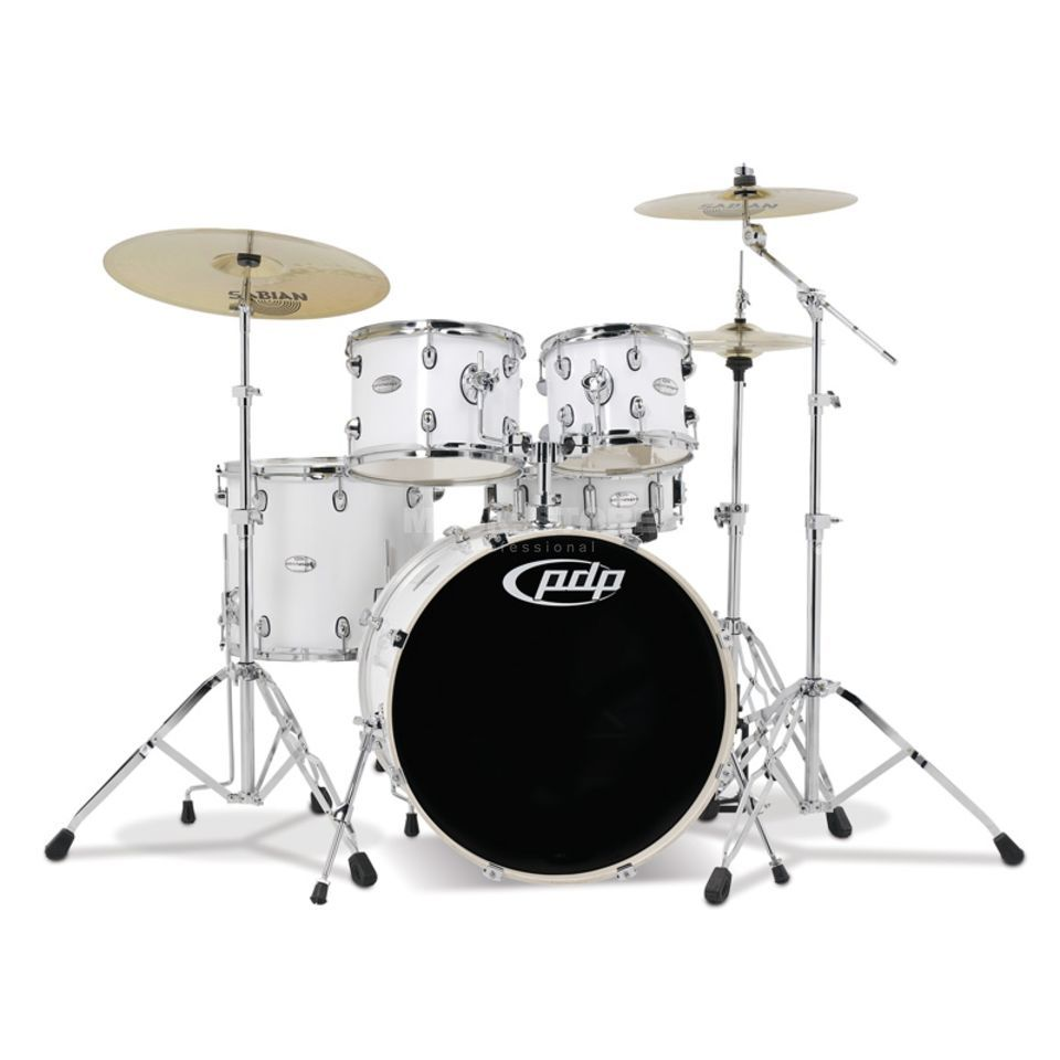 Drum Workshop PDP Mainstage Rock, Gloss White Produktbillede