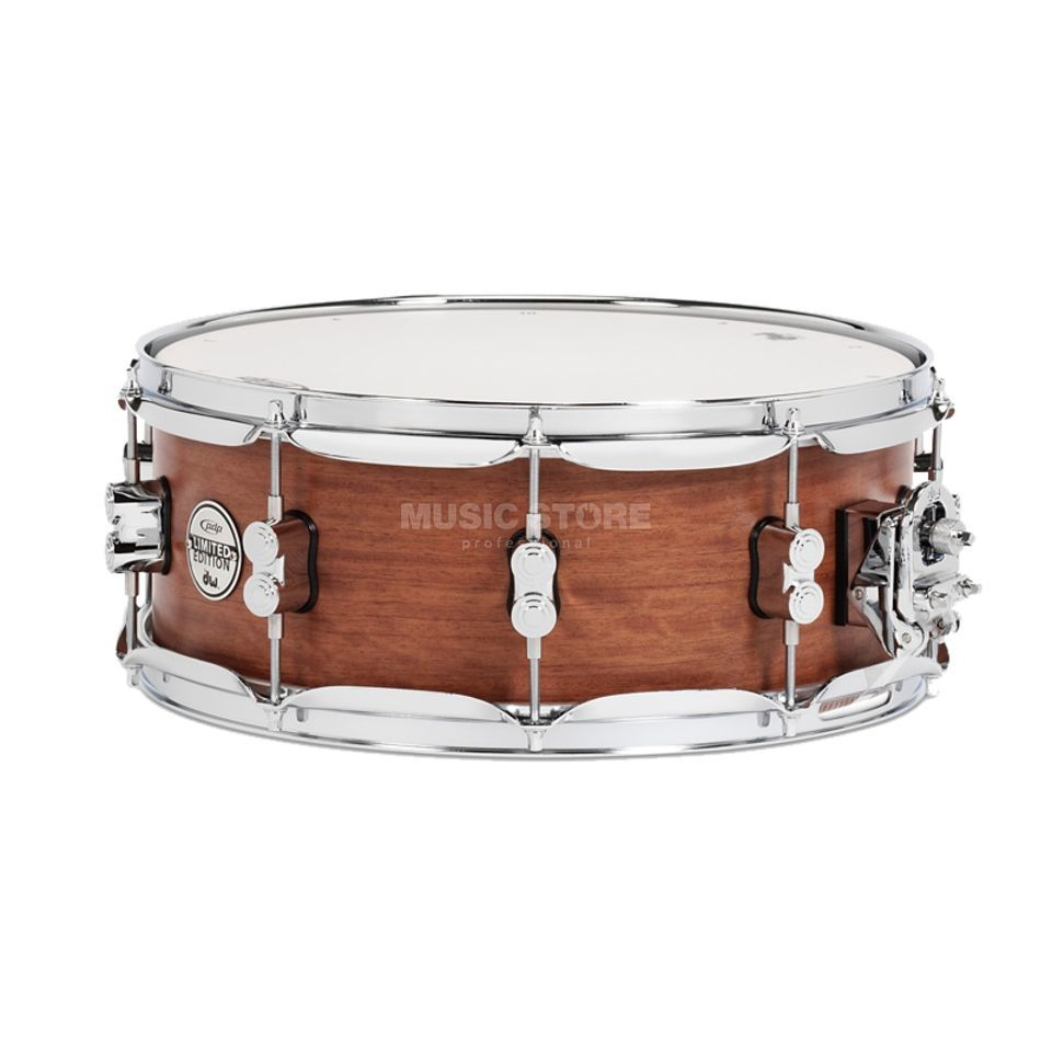 "Drum Workshop PDP Satin Oil Snare 14""x5,5"", Bubinga/Maple/Bubinga Produktbild"