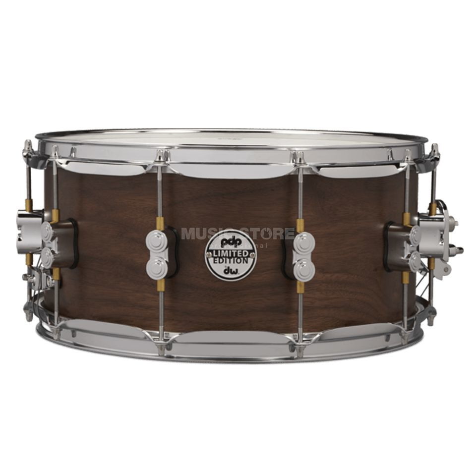 "Drum Workshop PDP Snare 14""x6,5"" Walnut / Maple / Walnut Produktbild"
