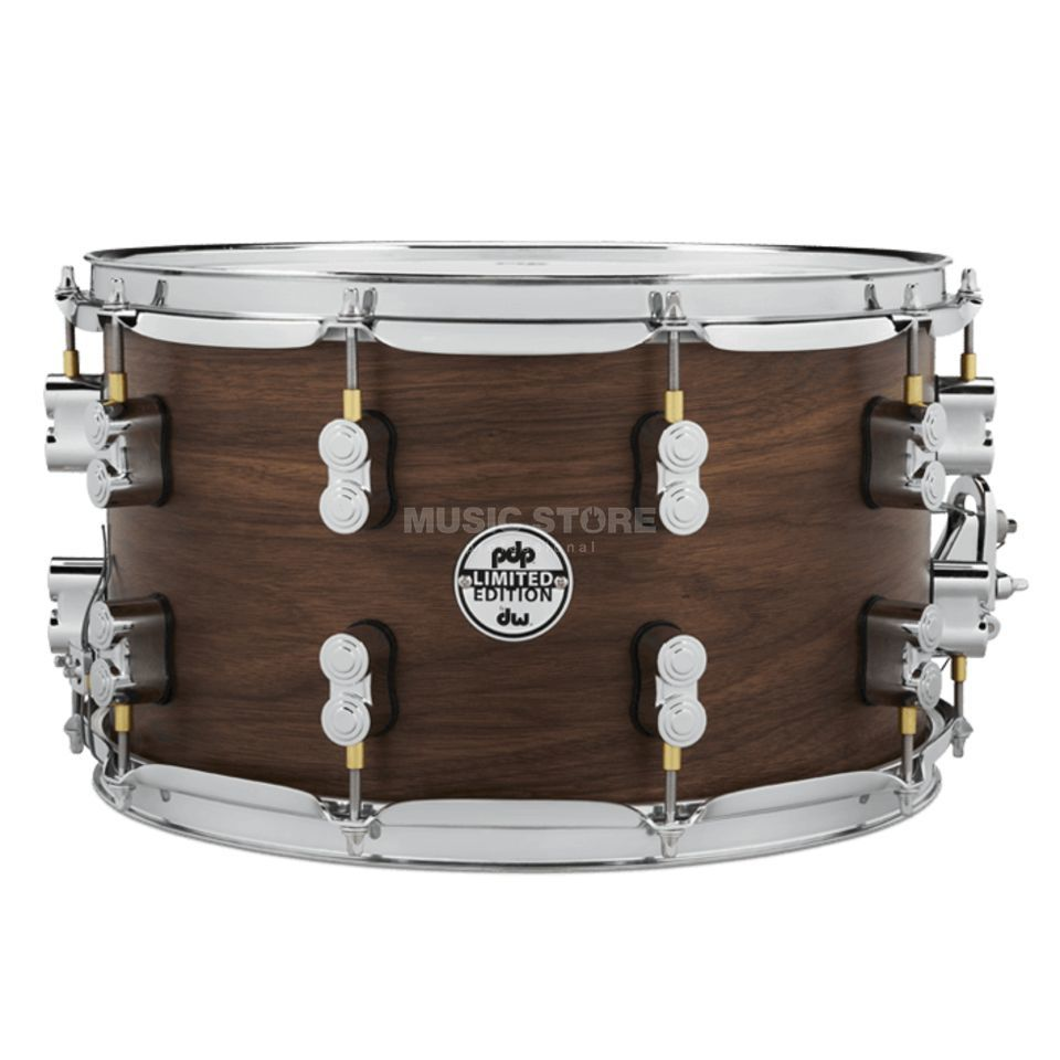 "Drum Workshop PDP Snare 14""x8"" Walnut / Maple / Walnut Product Image"