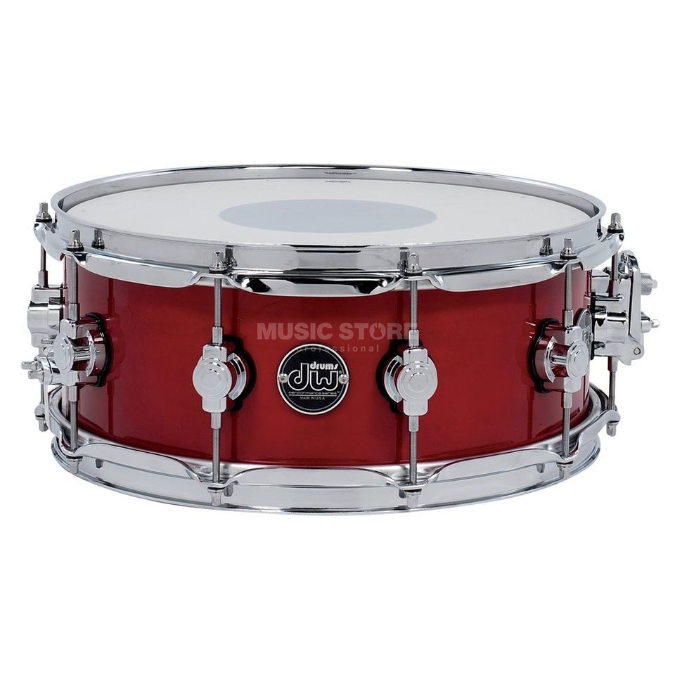 "Drum Workshop Performance Lacquer Snare, 14""x5,5"", Candy Apple Red Produktbild"
