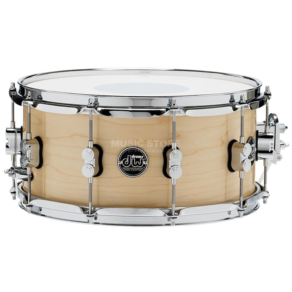 "Drum Workshop Performance Lacquer Snare, 14""x6,5"", Natur Produktbild"
