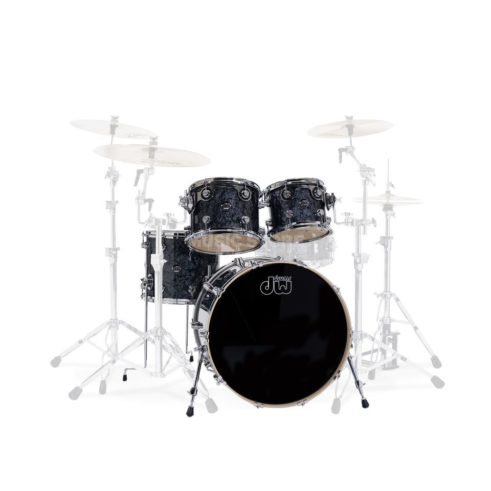 "Drum Workshop Performance ShellSet ""Jazz II"" , Black Diamond Produktbillede"