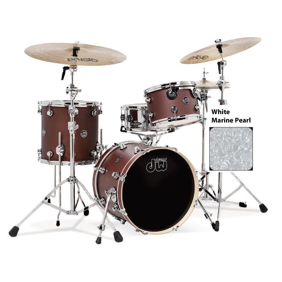 "Drum Workshop Performance ShellSet ""Jazz"", White Marine Pearl Produktbillede"