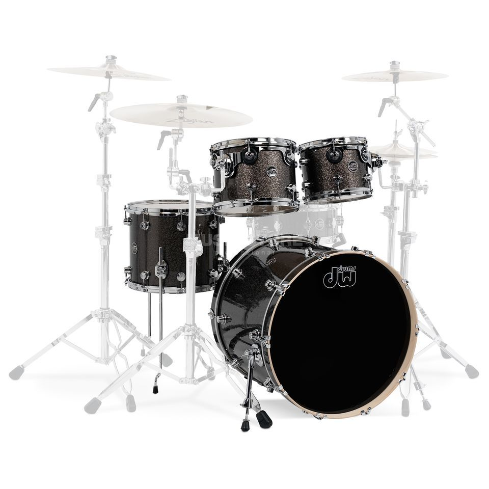 "Drum Workshop Performance ShellSet""Rock II"", , Pewter Sparkle Produktbillede"
