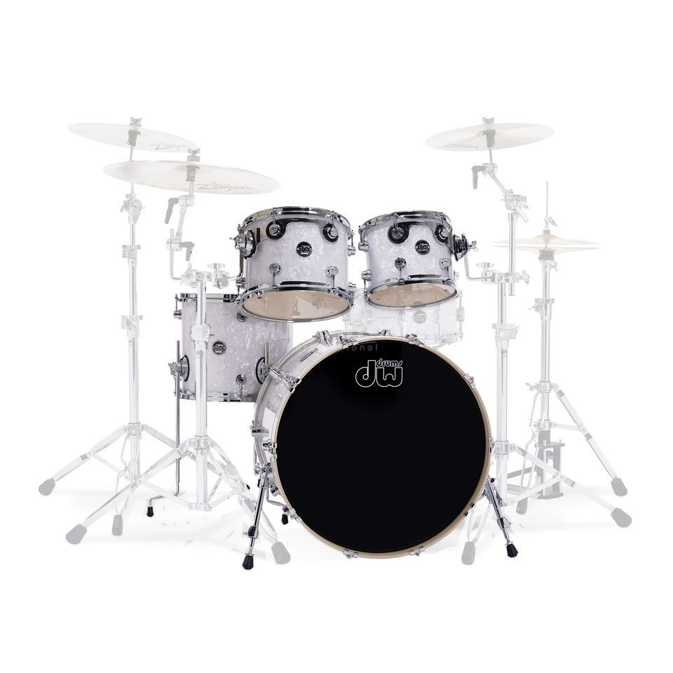 "Drum Workshop Performance ShellSet""Rock II"", , White Marine Pearl Produktbillede"