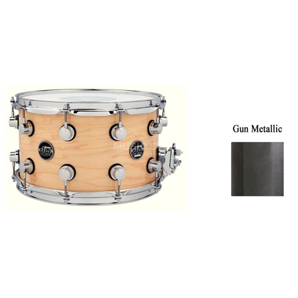 "Drum Workshop Performance Snare 13""x7"", Gun Metal Metallic Produktbild"