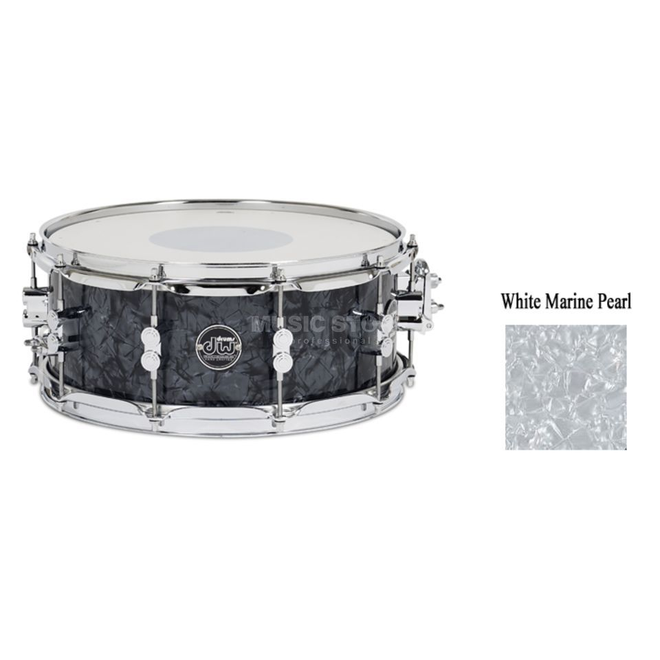 "Drum Workshop Performance Snare 14""x5,5"", White Marine Pearl Produktbild"