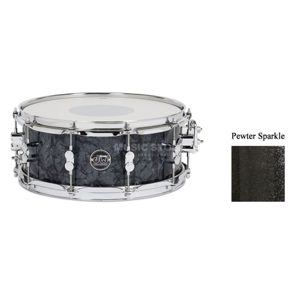 "Drum Workshop Performance Snare 14""x6,5"", Pewter Sparkle Produktbild"