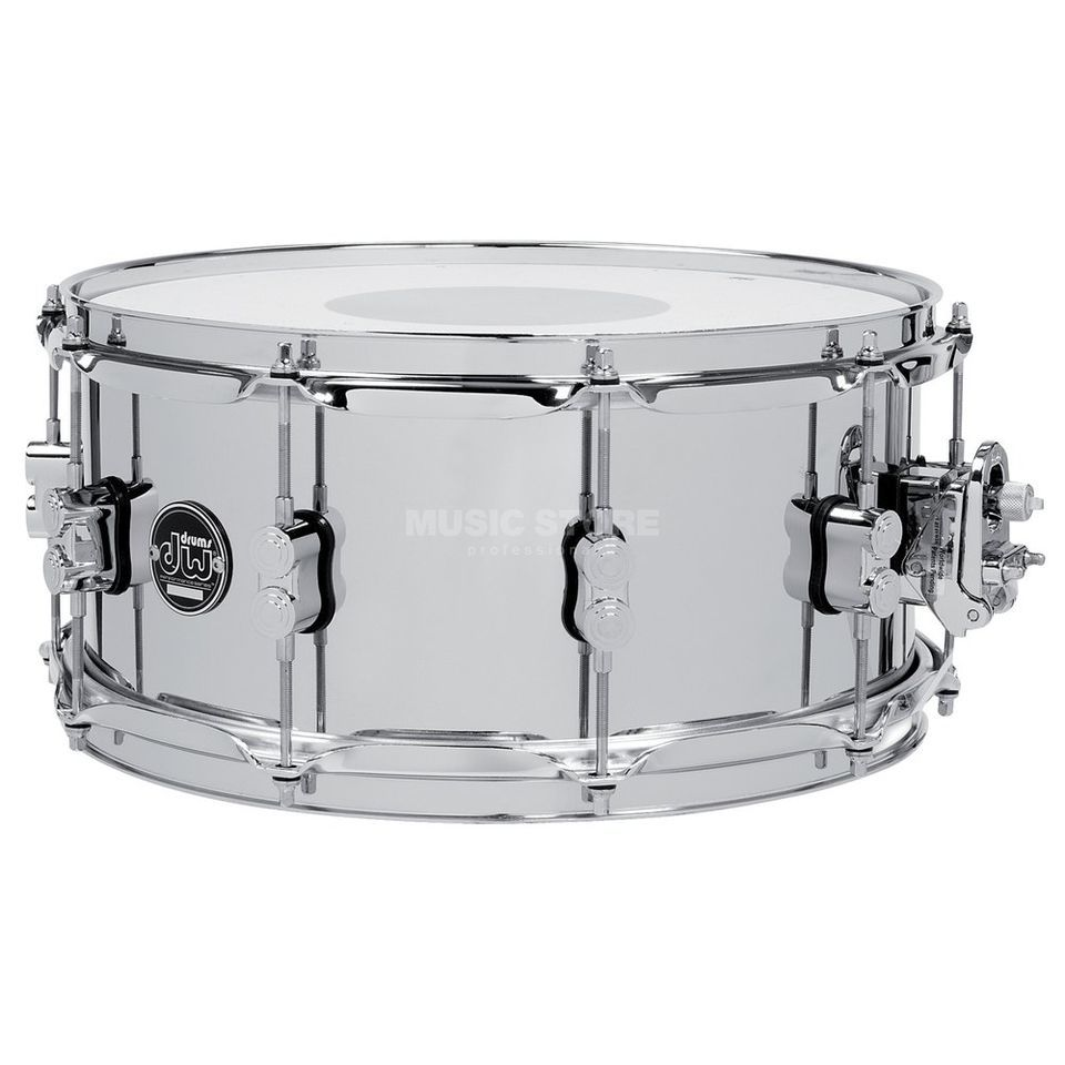 "Drum Workshop Performance Snare Stahl, 14""x5,5"" Produktbillede"