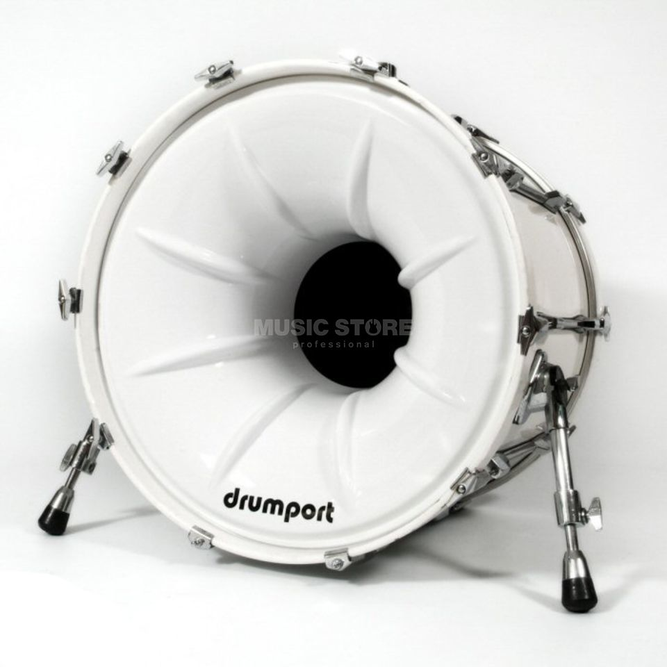"Drumport Megaport White 20""  Produktbild"