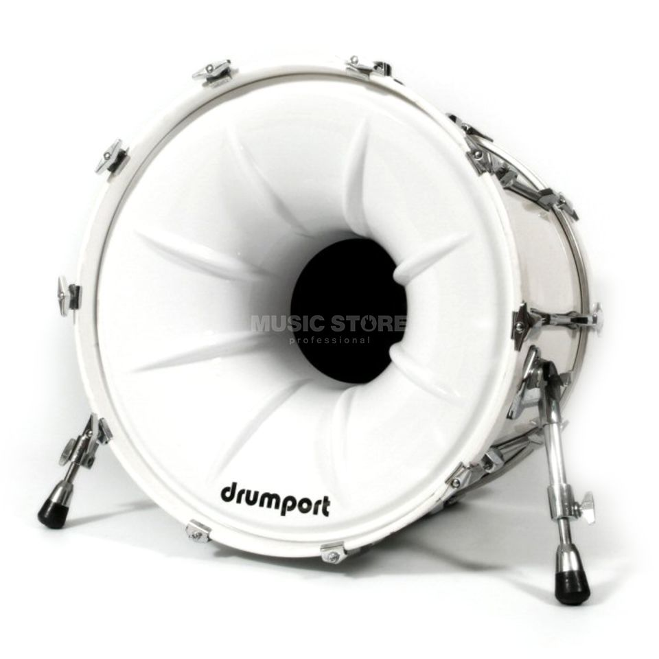 "Drumport Megaport White 22""  Produktbild"