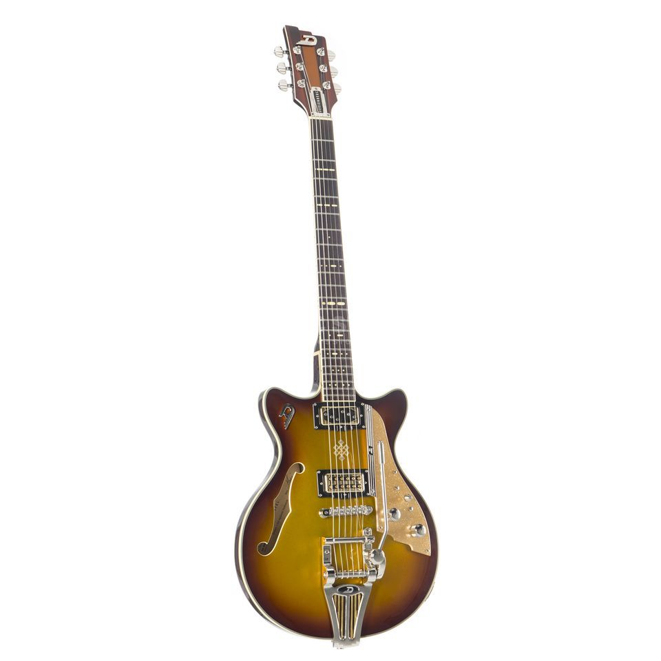 Duesenberg Alliance Series Joe Walsh Signature Gold Burst Produktbillede