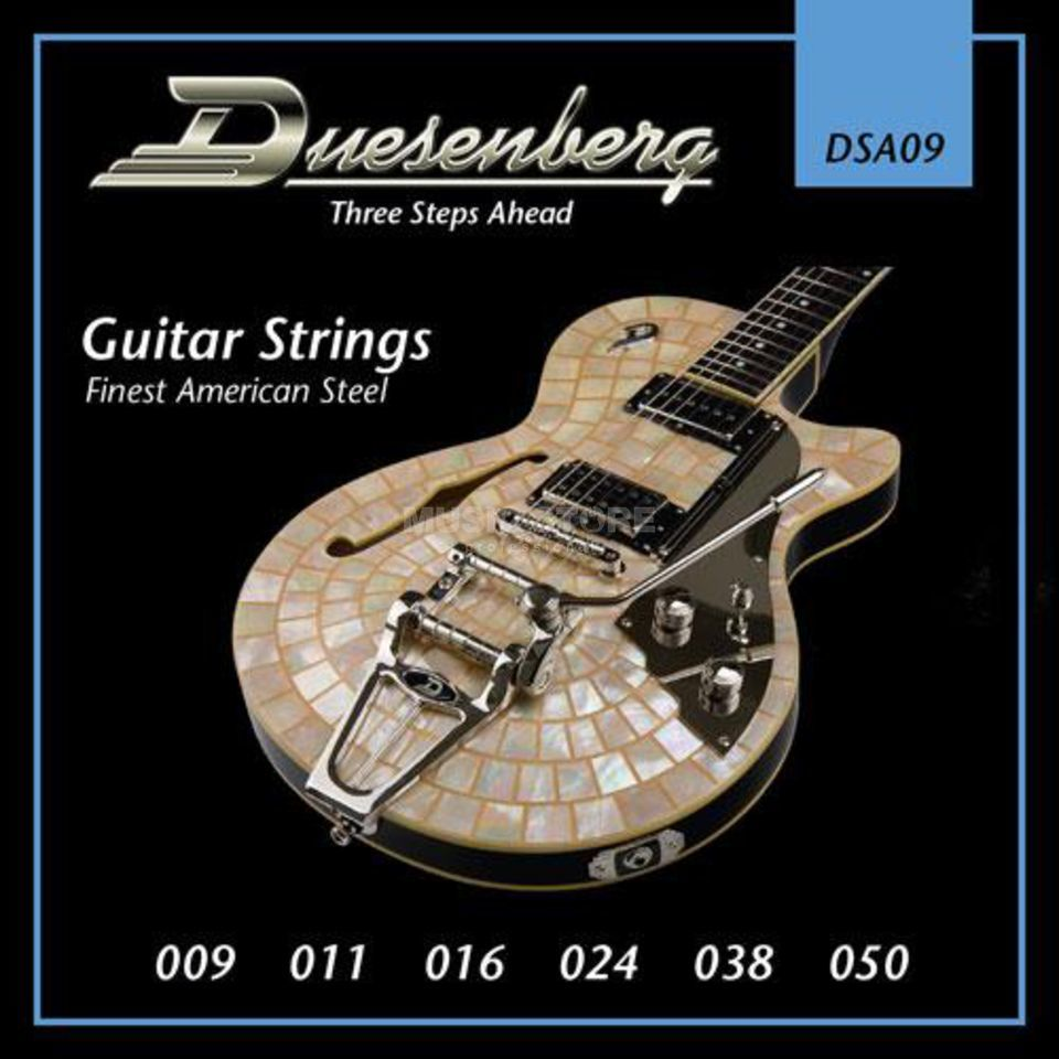 Duesenberg DSA09 09-50 Guitar Strings Nickel Wound Produktbillede