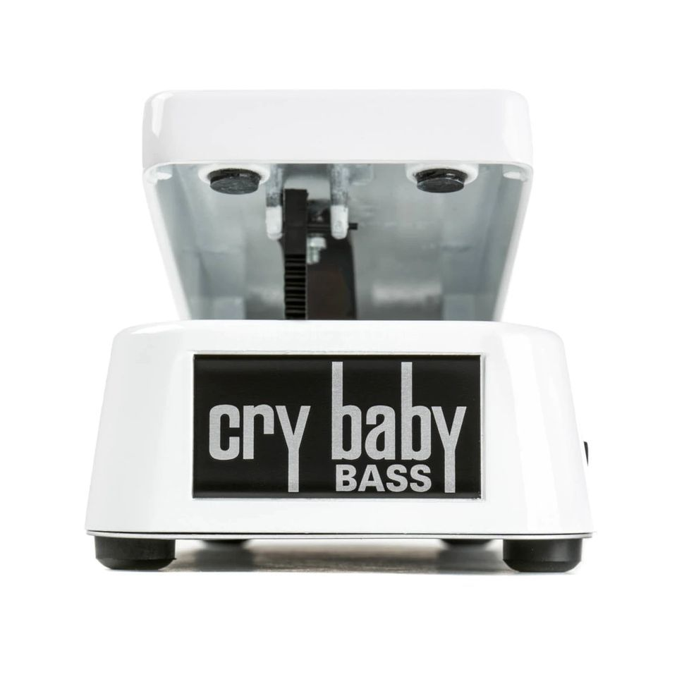Dunlop 105Q Cry Baby Bass Wah (White)  Product Image