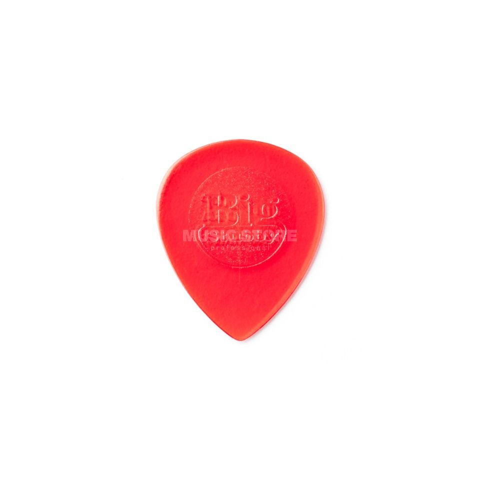 Dunlop Big Stubby 1.00mm Red Pack Of 6, Guitar Picks Produktbillede