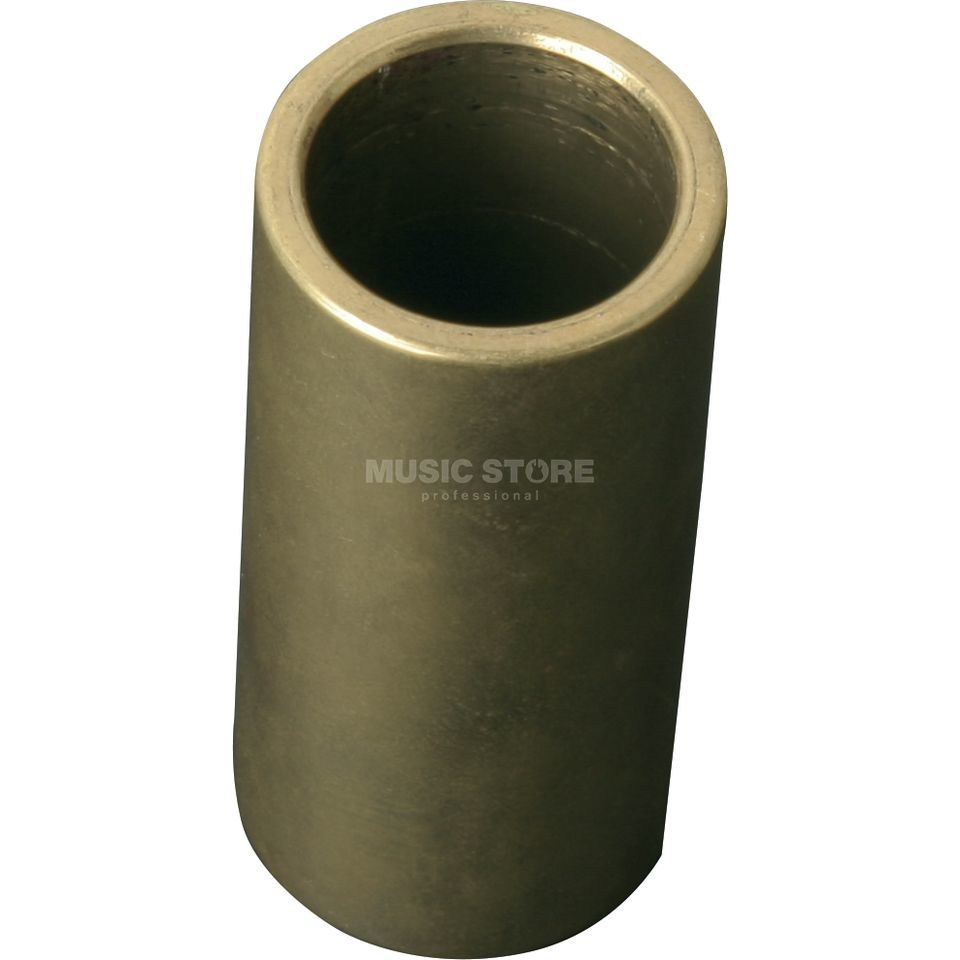 Dunlop Bottleneck224,SolidBrass,heavy 22 x 29 x 60mm Produktbillede