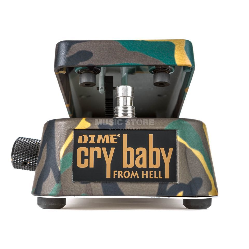 Dunlop Dimebag Wah No. DB01, Dime Cry baby from Hell   Produktbillede