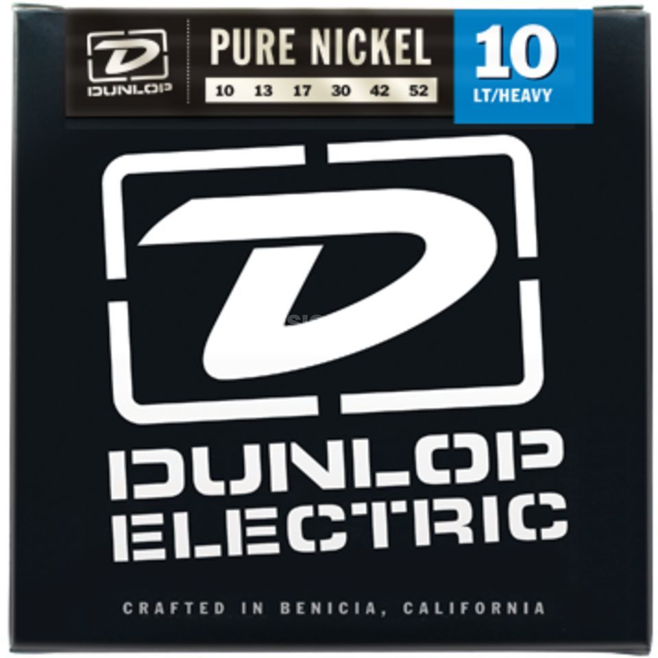 Dunlop E-Guitar Strings DEK 10-52 Pure Nickel Produktbillede