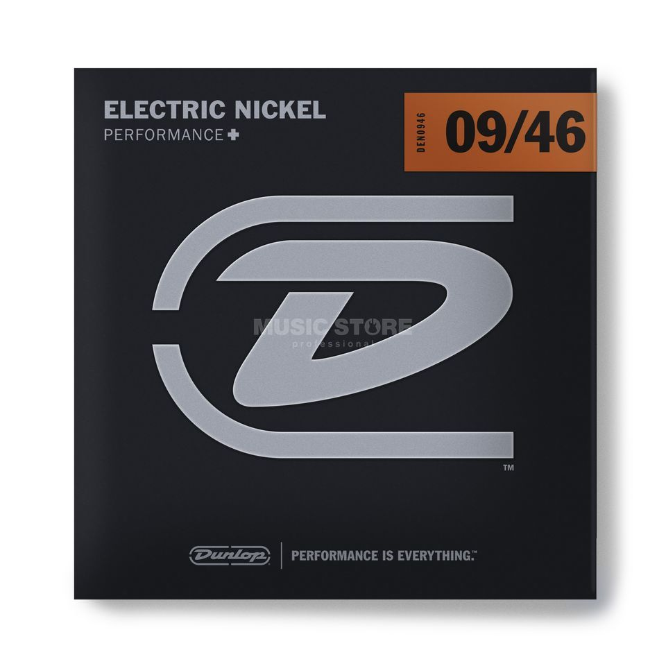 Dunlop E-Guitar Strings DEN 09-46 Nickel Wound Produktbillede