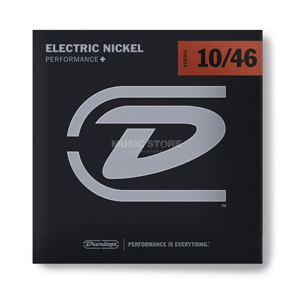 Dunlop E-Guitar Strings DEN 10-46 Nickel Wound Produktbillede