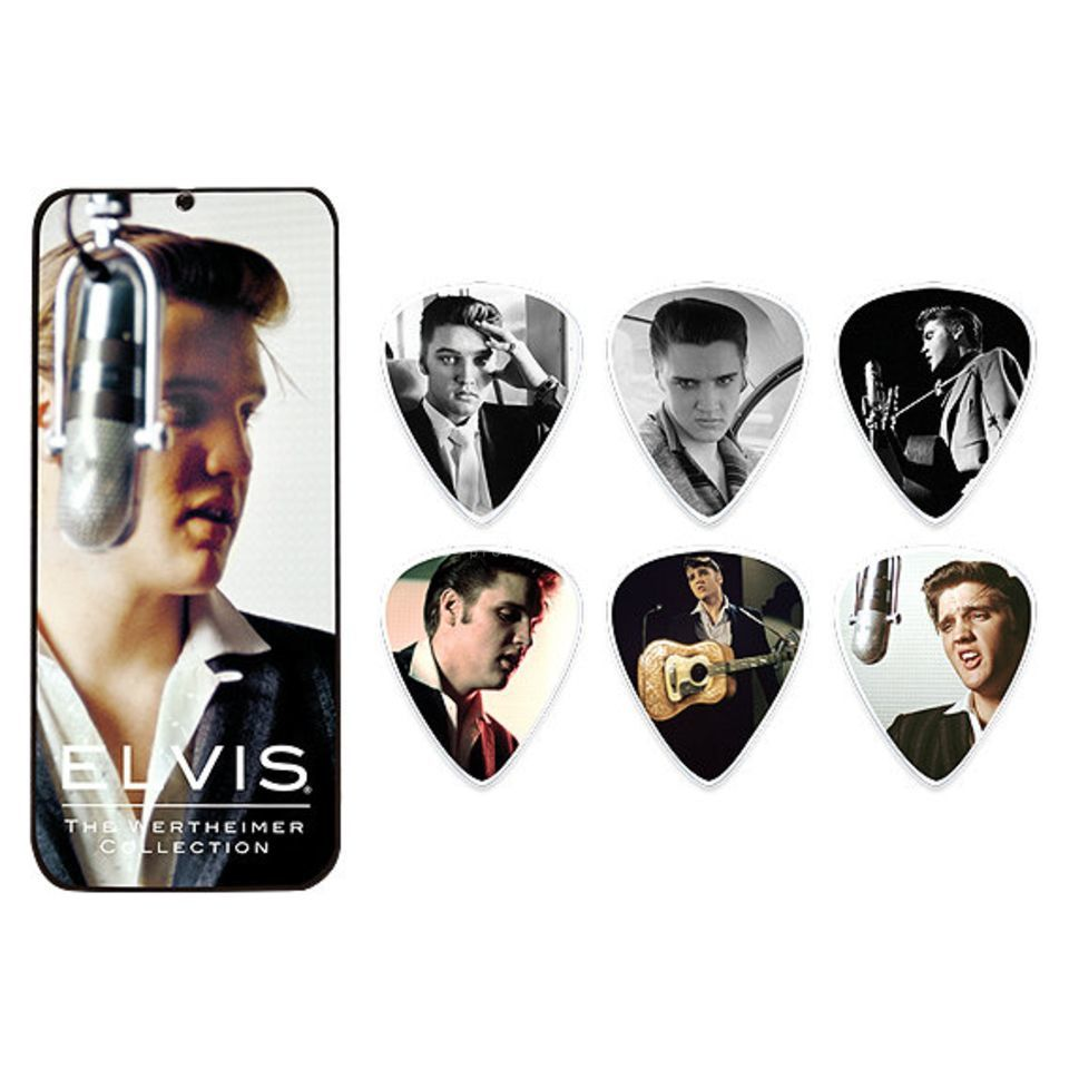 Dunlop Elvis Picks - Wertheimer 6er-Box Produktbillede