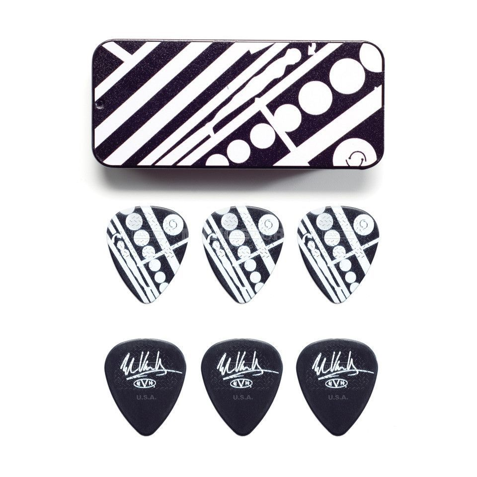 Dunlop EVH PT05 Circle Pick Tin 6er-Set Produktbillede