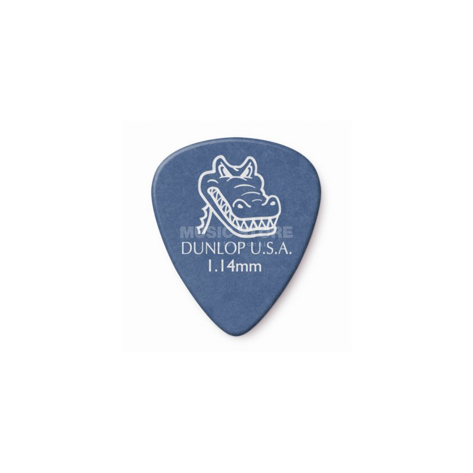 Dunlop Gator 1.14mm pick/plectrum Blu e (pack of 12)   Produktbillede
