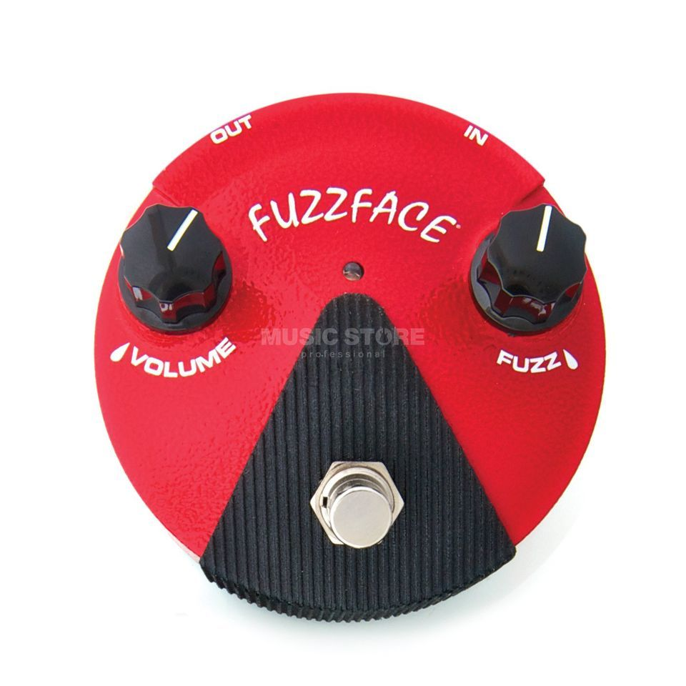 Dunlop Germanium Fuzz Face Mini Red FFM 2 Produktbild