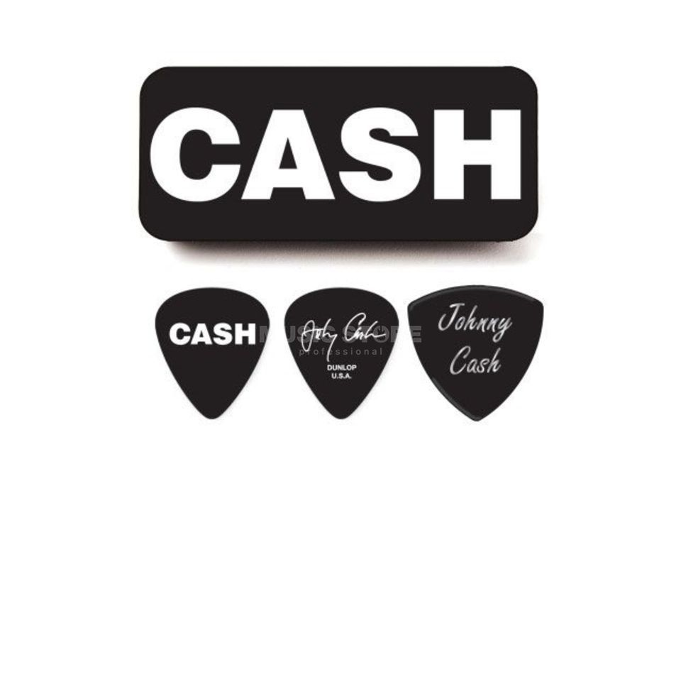 Dunlop Johnny Cash Picks - Bold heavy, 6er-Box Produktbild