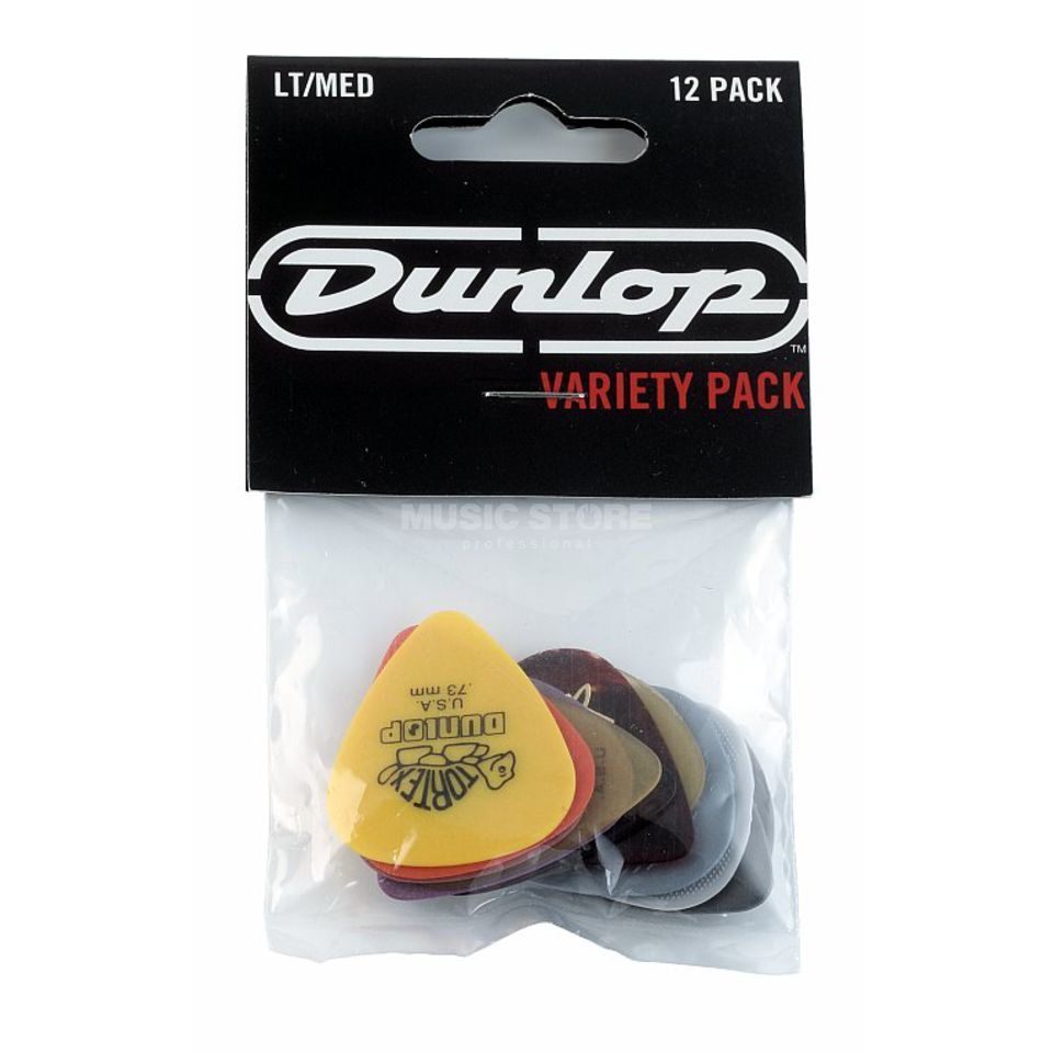 Dunlop PVP 101 Variety Picks LT/MED Players Pack 12-Pack Produktbillede