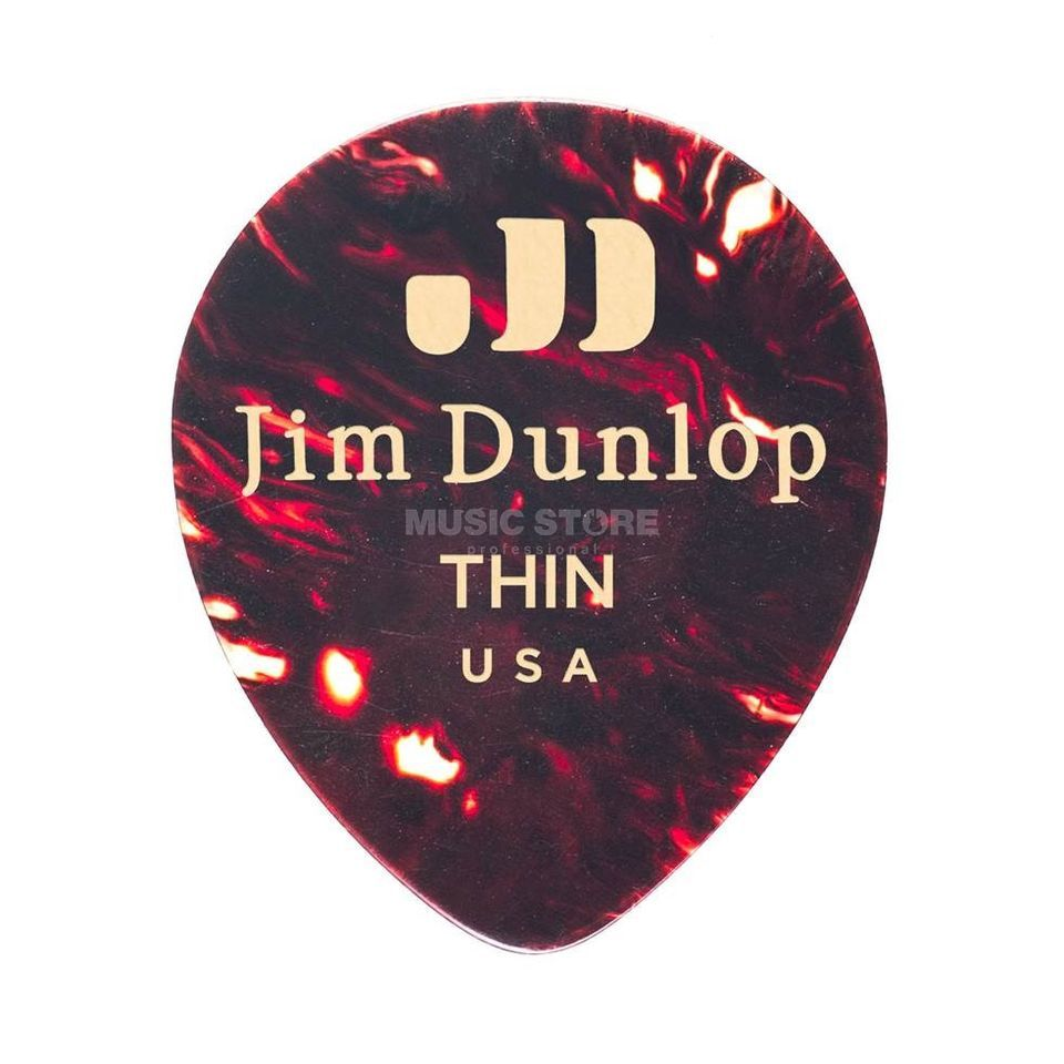 Dunlop Teardrop 485 Picks Produktbild