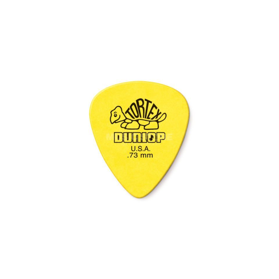 Dunlop Tortex Guitar Picks 0,73 Pack of 12 Immagine prodotto