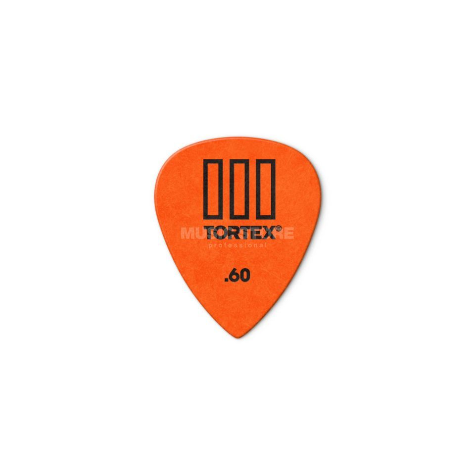 Dunlop Tortex III 462 Picks 0,60 12-Pack, orange Produktbillede
