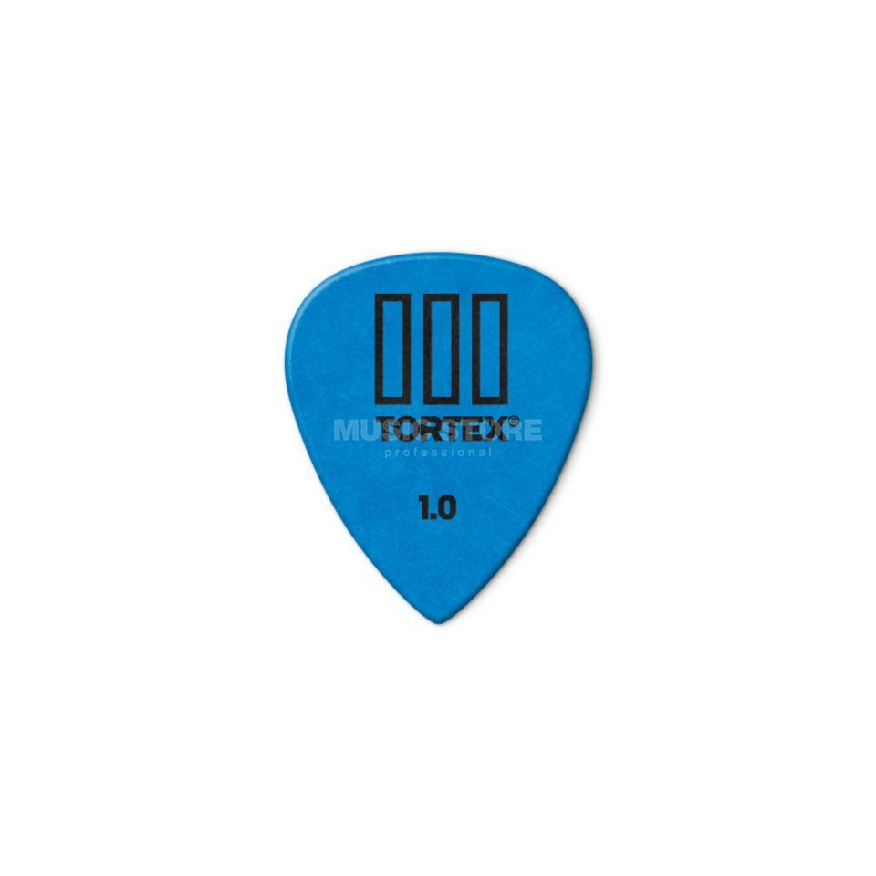 Dunlop Tortex III 462 Picks 1,00 12-Pack, blue Produktbillede