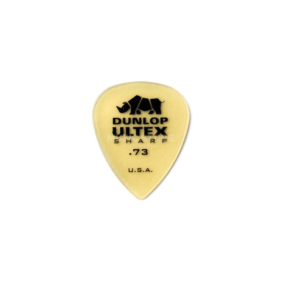 Dunlop Ultex Sharp Player's Pleks 0,73 mm, elfenbein,  6er-Set Produktbillede